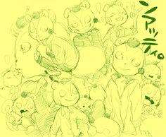 furry happy_tree_friends kemono nutty sketch yamachamasan_(artisr)