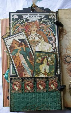 Hi, at Crafts 4 Eternity  this week, the challenge is: add a hidden element to your project . Uhmmmm, think I might have gone over the top a...
