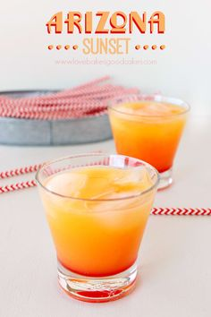This pretty thing even looks like a sunset. Get the recipe here.
