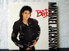 Michael Jackson- Bad. Original 1987 Epic Records vinyl LP 33. The Way You Make Me Feel, Bad, I Just Can't Stop Loving You, Dirty Diana... by AbqArtistry on Etsy