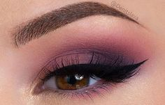 Plum Eyeshadow for Brown Eyes