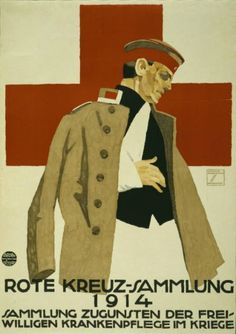 vintage red cross posters from world war I