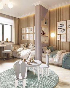 Kids Bedroom Furniture, Room Ideas Bedroom, Baby Bedroom, Home Furniture, Bedroom Decor, Bedroom Kids, Kid Bedrooms, Modern Furniture, Shared Bedrooms