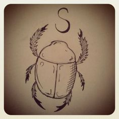 S is for…    (scarab)