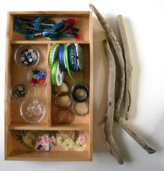 Resources for magic wand making- wonder if that shadow box is still at Goodwill.....