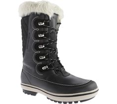 Women's Helly Hansen Garibaldi - Black/Natura/Feather Grey with FREE Shipping & Exchanges. With a premium quality full-grain waterproof leather upper and a natural, warm felt lining this boot