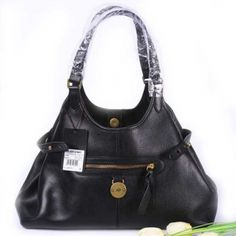 Womens Mulberry Clasisc Somerset Leather Tote Bag Black:£196 - Mulberry Bag Sale
