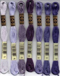 1 x Embroidery Floss Skeins Cross Stitch Thread Friendship Bracelets Floss Crafts Floss Cotton Sewing Embroidery Kit Color Code 223~336