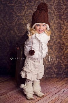 Children's Lined Cable Knit Beanie at VeryJane.com
