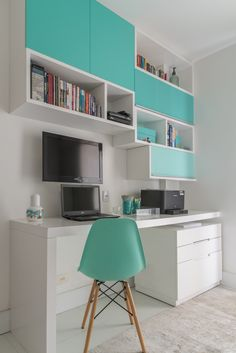 43 Contemporary Home Office Design Ideas For a Trendy Working Space Home Office Ideas Contemporary Design Home homeoffi Ideas Office space Trendy Working Study Room Design, Study Room Decor, Room Design Bedroom, Room Ideas Bedroom, Home Room Design, Small Room Bedroom, Home Office Design, Home Office Decor, Bedroom Decor