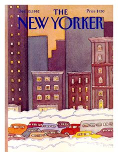 The New Yorker Cover - December 13, 1982 Giclee Print by Lonni Sue Johnson at Art.com