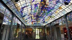 Interior de la Casa Lis, toda una referencia en Salamanca (Spain)