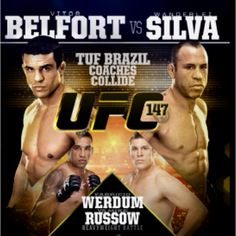 UFC 147 - probably in Belo Horizonte