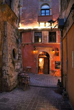 Old town, Chania, Crete, Greece - bewri Skiathos, Crete Chania, Crete Greece, Mykonos Greece, Athens Greece, Beautiful Islands, Beautiful Places, Places Around The World, Around The Worlds