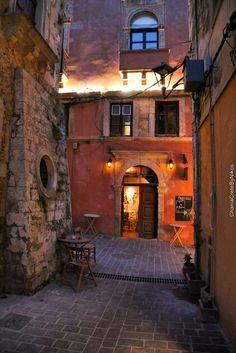 Old town, Chania, Crete, Greece