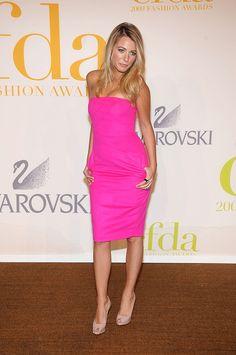 Blake in Michael Kors dress at the 2009 CFDA Fashion Awards, simple yet stunning