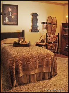 366  Primitive Bedroom..