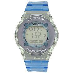 Casio Baby-G Blue Ladies Shock Resist Multi Function Digital Watch