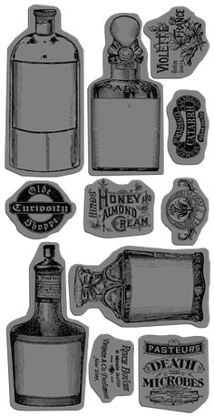 Olde Curiosity Shoppe Cling Stamp 2! #newcollection #graphic45 #CHA