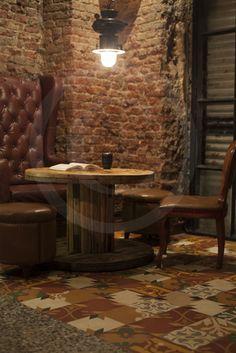 The Social at Colaba uses a wonderful medley of Heritage Tiles! Tiles, Interiors, Room Tiles, Tile, Decoration Home, Decor, Backsplash, Deco