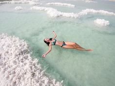 Dead Sea is the lowest point on earth at 1407 feet below sea level also known as one of the 7 wonders of the world. The Dead Sea first of all is not a sea, but heavily saline lake, the water is so buoyant that one tends to float.