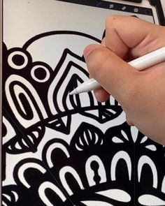 Discover recipes, home ideas, style inspiration and other ideas to try. Digital Painting Tutorials, Digital Art Tutorial, Art Tutorials, Mandala Art Lesson, Mandala Drawing, Line Illustration, Digital Illustration, Digital Art Beginner, Ipad Art