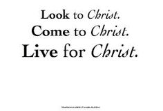 What you need is in Christ?