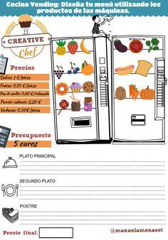 Llega al aula de ELE la nueva sensación culinaria… Creative Chef. Creative Chef se trata de un divertido concurso de cocina en el que los alumnos tendrán que confeccionar un menú de dos plato…