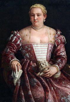 Francesco Montemezzano Seated Woman with Kerchief and Lap Dog