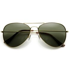 a033620b21c51 Original Classic Metal Military Aviator Sunglasses - zeroUV Men s  Sunglasses, Sunglasses Accessories, Men s Accessories