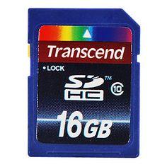 Cartão classe 16gb Transcend 10 sd memória flash SDHC – BRL R$ 27,07