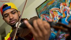 Protest music has died for Venezuela violinist