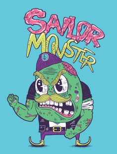 Monsters 2012 by Alejandro Giraldo, via Behance