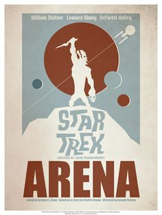 A retro style movie poster for all 80 original Star Trek episodes! Now in book form: Star Trek: The Art of Juan Ortiz. Star Trek Original Series, Star Trek Series, Bear Grylls, Star Trex, Star Trek Posters, Posters Vintage, Retro Posters, Wall Posters, Movie Posters
