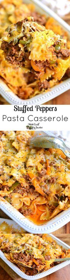 Stuffed Peppers Pasta Casserole
