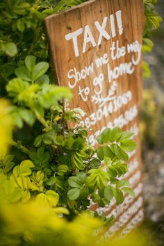 taxi wedding signage Read more on http://onefabday.com/festival-wedding-images-by-nica/?utm_source=Subscriber Email List