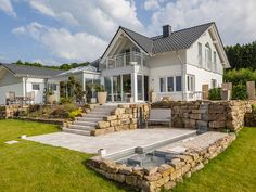 Future House, My House, Garden Design, House Design, House Viewing, Country Style Homes, My Dream Home, Modern Design, Pergola