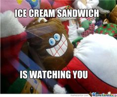 Ice Cream Sandwich by vanillathundar - A Member of the Internet's Largest Humor Community Movie Memes, Funny Memes, Sweet Memes, Seattle Fashion, Buy Local, Food Truck, Corporate Events, Sandwiches, Ice Cream