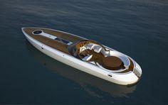 Dartline Powerboat by Pietro Russomanno