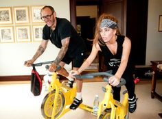 Lady Gaga's New Body Thanks To Spin Class! - Beautelicious