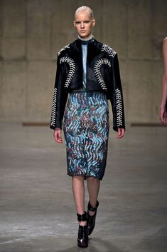 Peter Pilotto Fall 2013 Ready-to-Wear Fashion Show - Linn Arvidsson