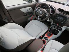 2015 Jeep Renegade Latitude with Ski Gray/Bark Brown Interior