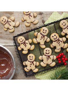 Gingerbread Tahini Cookies