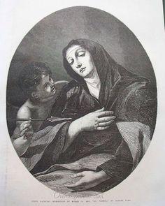 Santa Teresa, (grabado de 1868)