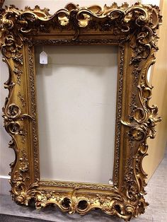 Buy online, view images and see past prices for A high Rococo Century portrait frame,. Invaluable is the world's largest marketplace for art, antiques, and collectibles. Vintage Photo Frames, Antique Picture Frames, Gold Picture Frames, Antique Frames, Shabby Chic Frames, Rococo Style, Art N Craft, Painting Frames, Living Room Designs