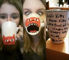 Funny pictures about DIY Sharpie Mug. Oh, and cool pics about DIY Sharpie Mug. Also, DIY Sharpie Mug photos. Sharpie Crafts, Diy Sharpie Mug, Sharpie Mug Designs, Diy Mug Designs, Sharpie Plates, Sharpie Projects, Sharpie Doodles, Kids Crafts, Diy And Crafts