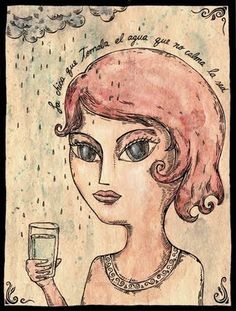 FITO ESPINOSA: La chica que tomaba el agua que no clama la sed