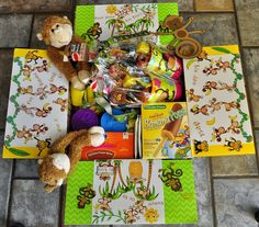 Missionary Box Moms : Monkey Box ~ Just Swingin' By Missionary Care Packages, Missionary Gifts, Sister Missionaries, Care Box, Mission Accomplished, Brown Paper Packages, Creative Gifts, Monkey, Projects To Try