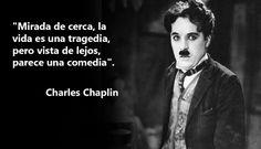 Charles Chaplin: 10 frases inolvidables | Pensamientos | Listas ...