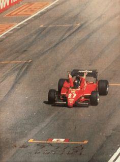 Patrick Tambay Imola Gilles Villeneuve, Formula One, Ferrari, Pilot, Racing, Car, Vehicles, Revenge, Passion